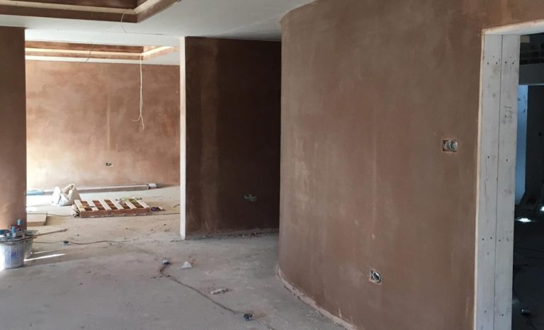 Internal Curved Wall Plastering