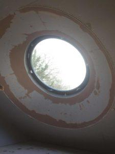 Plastered Circular Window